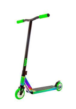 Crisp Surge Pro Scooter - Neo Chrome/Green