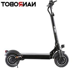 "NANROBOT D4+ 10"" 2000W Motor Powerful Adult Electric Scooter"