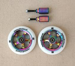 DIS 110mm Oil Slicks Package - 2 Wheels and 2 Pegs