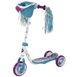 Huffy Disney Frozen 2 Kids Toddler Preschool 3 Wheel Kick Sc