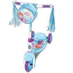 Disney Frozen Girls' 3-Wheel Preschool Scooter, by Huffy