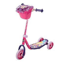 Huffy Disney Princess 3-Wheel Scooter w/Handlebar Bag