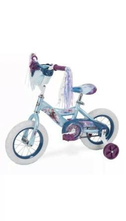 "Huffy Disney's Frozen 2 Kids 12"" Bike Bicycle with Training"