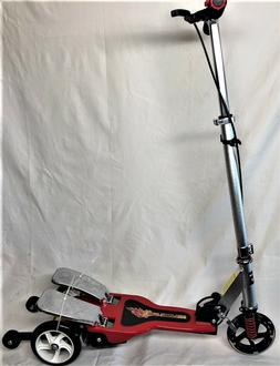 Dual Pedal 3-Wheel Scooter for  Boys & Girls 5 years LED Fro