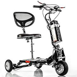 E-Wheels EW-07 EFORCE Fast Electric Mobility Scooter for Adu