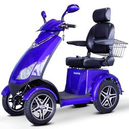 E-Wheels EW-72 FAST Recreational Mobility Scooter - Blue
