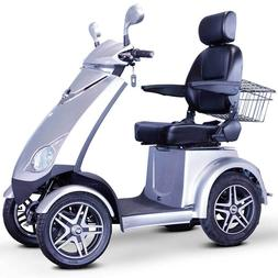 E-Wheels EW-72 FAST Recreational Mobility Scooter - Silver