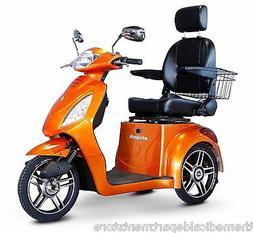E-Wheels EW-36 3-Wheel Electric Senior Mobility Scooter - Pi