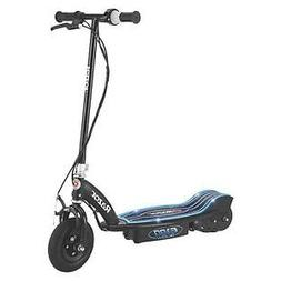 Razor E100 Glow Electric Scooter, Black & Blue - Please See