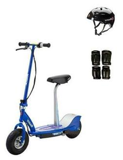 Razor E300S Adult High-Torque Electric Power Scooter w/Seat,