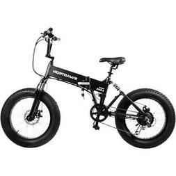 Swagtron EB-8 Outlaw Fat Tire Electric Bike – Foldable Off