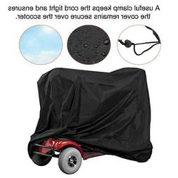 Eldly Mobility Scooter Cover Wheelchair Waterproof Rain Prot