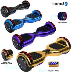 Electric Bluetooth Hoverboard Smart Self-Balancing Scooter U