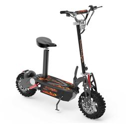 Electric Scoote Brushlessr 1600W, 36V Adult Electric Scooter