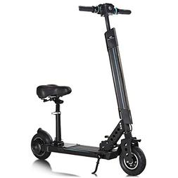 Goplus Electric Scooter, Foldable Adjustable Kick Scooter wi