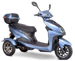 eWheels EW-10 Blue Sport Electric Mobility Recreational Scoo