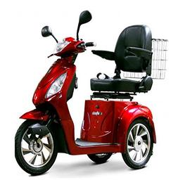 EW 36 Mobility scooter. Red. Up to 18Mph and 45 Miles on a S