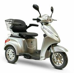 eWheels EW38 Silver Electric Mobility Scooter - Heavy Duty 1