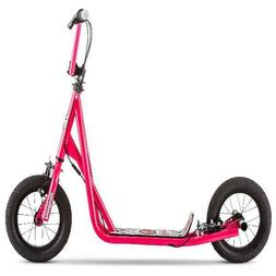 """Girls Pro Scooter 12"""" Air Big Wheels for Child Kids Grey Han"""