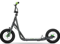 Mongoose Expo Kids Scooter - Grey/Green