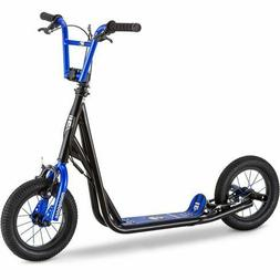 Mongoose Expo Kids Scooter, 12-Inch Air-Inflated Wheels