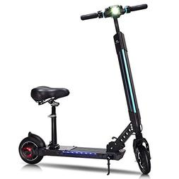 Goplus Foldable Electric Scooter, Adjustable Kick Scooter, S