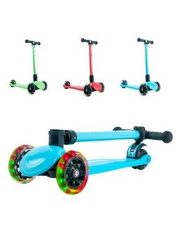 Playshion Foldable Kick Scooter for Kids-Adjustable Height w
