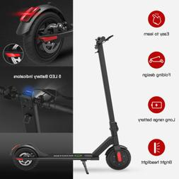 Megawheels S5 Folding Aluminum E-scooter 250W 14Mph Black Ci