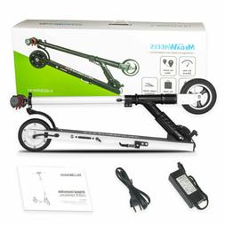 folding electric scooter 250w aluminum adults teens