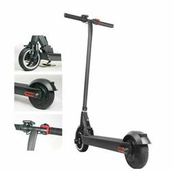 folding electric scooter 250w aluminum portable black