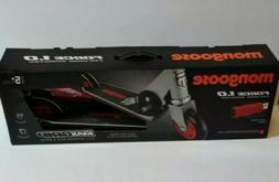 Mongoose Force 1.0 Scooter - Gray/Red Silver/Red
