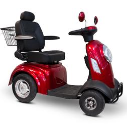 Four wheeled adult electric mobility scooter 4 wheel battery