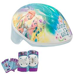 Disney Frozen Toddler Skate / Bike Helmet, Pads & Gloves - 7