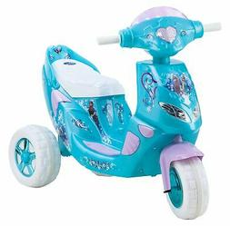 Kid Trax Frozen Twinkling Lights Scooter 6V Girl's KT1163 Ri