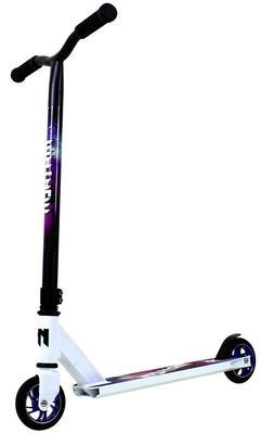 Mayhem Galaxy Pro Fixed Bar Stunt Kick Scooter White NEW SAM