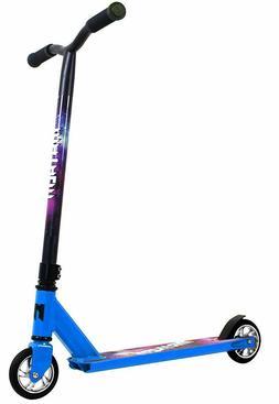 Mayhem Galaxy Pro Fixed Bar Stunt Kids Kick Scooter Blue NEW