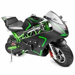 gas pocket bike motorbike scooter 40cc epa