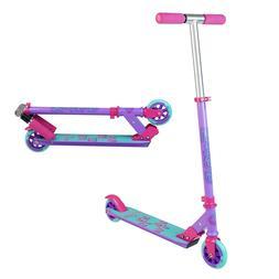 MADD GEAR CARVE 100 Purple Pink Teal - Folding Aluminum Kick