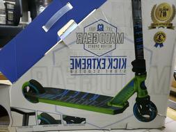 Madd Gear Carve Pro Stunt Scooter GREEN/BLUE BOX DAMAGED