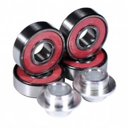 Madd Gear Scooter K-2 Bearings With Spacer SetPink Scooter