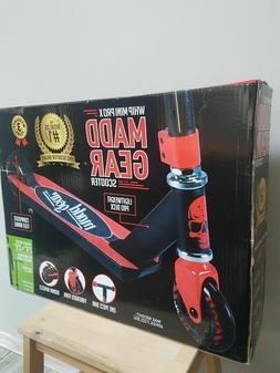 Madd Gear Whip Mini Pro X Kick Scooter NEW  Black/Red