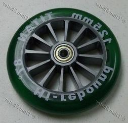 GREEN 125mm Replacement Wheel for TITAN KS532/RAZOR A3 Kick