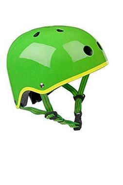 Micro Green Helmet with Yellow Trim - Small