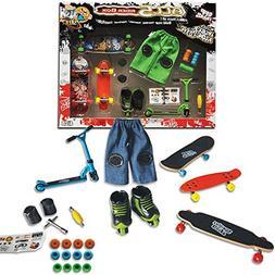 Grip&Tricks - 5RIDER BOX - GIFT SET OF - FINGER SKATES - ROL