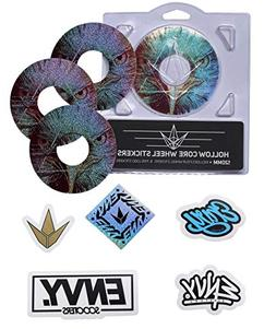 Envy Hawk Wheel Sticker Pack