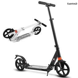 Height Adjustable Adult Folding Aluminum Alloy Kick Scooter