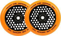 Root Industries 110mm Honeycore Wheels - Radiant Orange