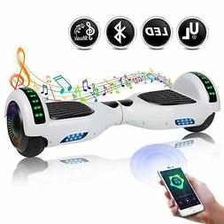 "hoover board with bluetooth speaker 6.5"" hoverboard electric"