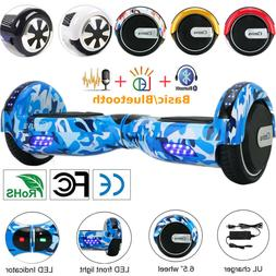 """Hoverboard 6.5"""" LED Self Balancing Wheel Electric Scooter Re"""