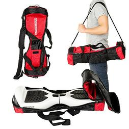 Swagtron Hoverboard Carrying Red Bag Cover Case Fits board T